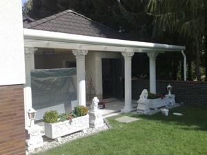 Prächtiger Garten mit Terrasse