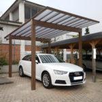 TMS Bautz Aluminium Carport Holz Design